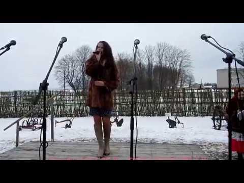 Снег летит и летит    Оля Гвоздовская 15 лет ! Бездеж  Масленица