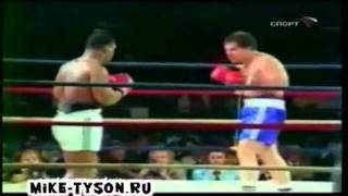 Бой Майк Тайсон - Дон Халпин Mike Tyson - Don Halpin fight