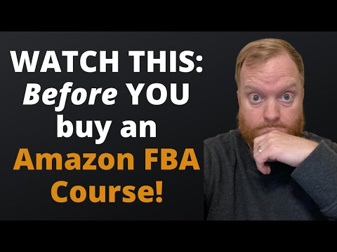 Are Amazon FBA Courses Worth It   Amazon FBA 2021