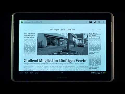 Video of Schwarzwälder Bote ePaper