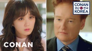 Conan Guest Stars In A Korean Soap Opera