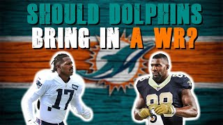 Should The Miami Dolphins Bring In A Wide Receiver?!  | Roster Moves!