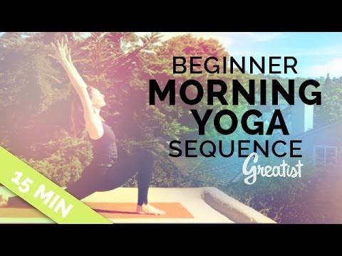Beginner Morning Yoga Sequence for Greatist (15-min)
