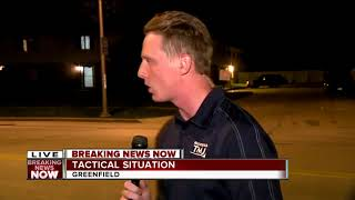 Suspect in custody after tactical response in Greenfield