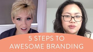 5 Steps To Awesome Branding - How To Start A Craft Business From Home
