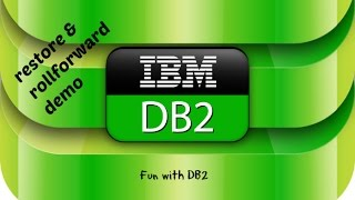 DB2 Basics Tutorial Part 18 - Restore and rollforward Demo