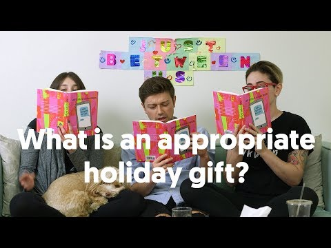 WHAT'S THE BEST HOLIDAY GIFT?/ GABY & ALLISON