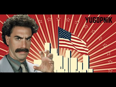 Borat – Understanding American exceptionalism and nationalism.