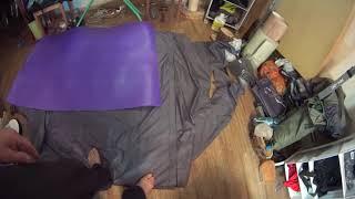 Зимний пол для палатки своими руками