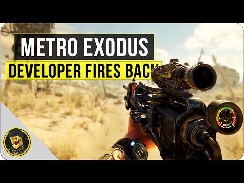 Metro Exodus - Developer Fires Back!