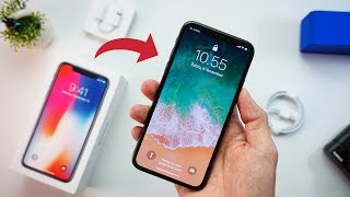 UNBOXING IPHONE X INDONESIA!!!