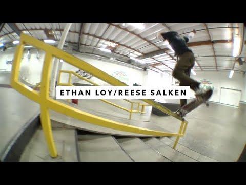 TWS Park: Ethan Loy and Reese Salken   TransWorld SKATEboarding