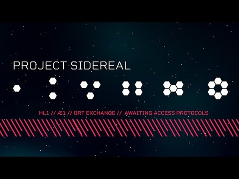 Teaser d'annonce de Project Sidereal