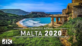 【4K】Amazing MALTA From Above 2020   Cinematic Wolf Aerial™ Drone Film