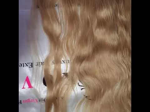 Blonde Wavy Lace Frontal