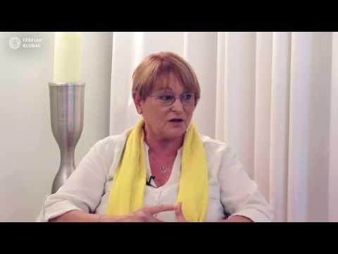 Tamási Erzsébet a Férfi értékekről a Férfiak Klubjában