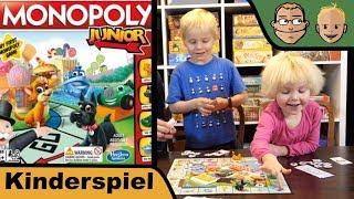 Monopoly Junior - Kinderspiel - Review mit Sohn