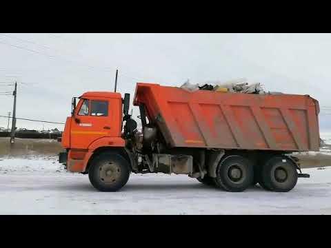 Вывоз мусора с несанкционированной свалки