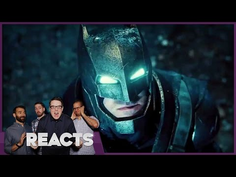 Batman v Superman Trailer – Kinda Funny Reacts