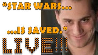SCOTT MENDELSON SAVES STAR WARS!  LIVE CHAT!!