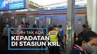 Kereta KRL Beroperasi Secara Normal Kepadatan Penumpang yang Sempat Terjadi Sudah berkurang