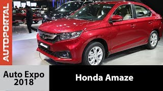 All new 2018 Honda Amaze at Auto Expo 2018 - Autoportal