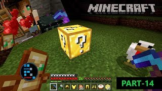 [Hindi] I FOUND A GIRLFRIEND AND OPENING 50 LUCKY BLOCK | MINECRAFT GAMEPLAY#14