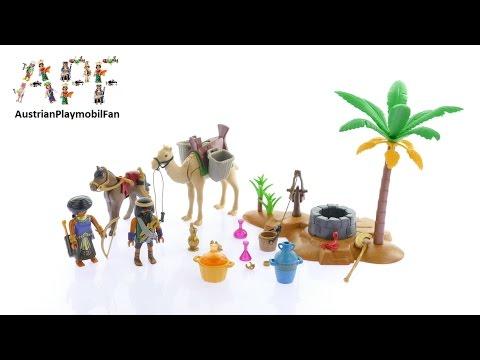Vidéo PLAYMOBIL History 5387 : Pilleurs égyptiens avec trésor