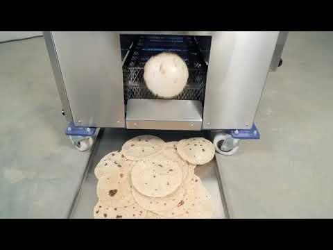 Semi-Auto Chapati Making Machine