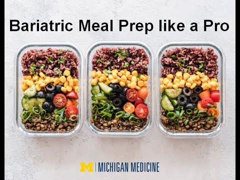 Meal Prep Like a Pro: Bariatric Edition