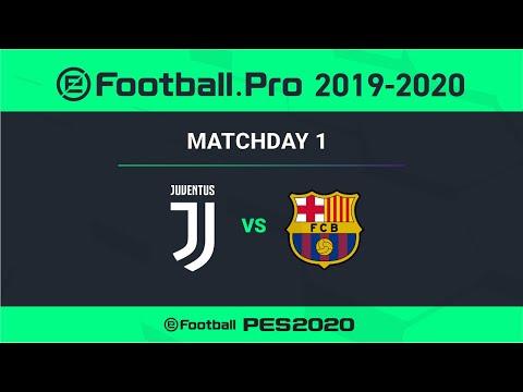 PES | FC BARCELONA VS JUVENTUS | eFootball.Pro 2019-2020 #1-5