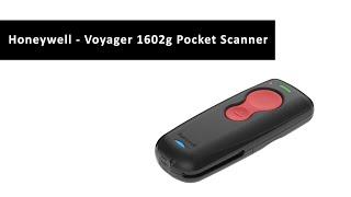 Watch the Honeywell Voyager 1602g - Wireless Pocket Barcode Scanner - 1D, 2D, QR code
