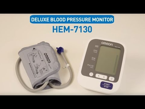 OMRON Upper Arm Blood Pressure Monitor HEM-7130
