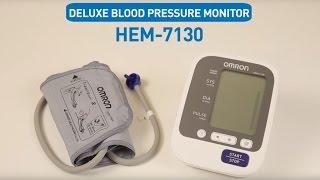 OMRON Upper Arm Blood Pressure Monitor HEM-7130