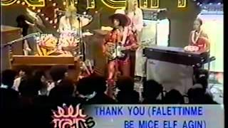 Thank you - Sly & the Family Stone LIVE ! on soul train