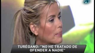 """Tras Su Polémica """"cateta"""" Eva Turégano Da La Cara"""