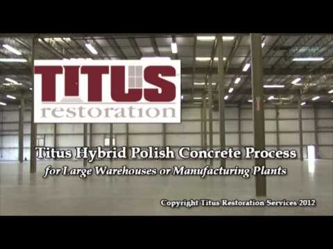 Concrete Floor Restoration for Large Warehouses & Manufacturing | Polished Concrete Solutions