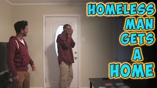 Homeless Man Gets A Home | Kholo.pk