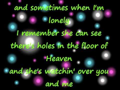 Holes In The Floor Of Heaven Steve Wariner Lyrics