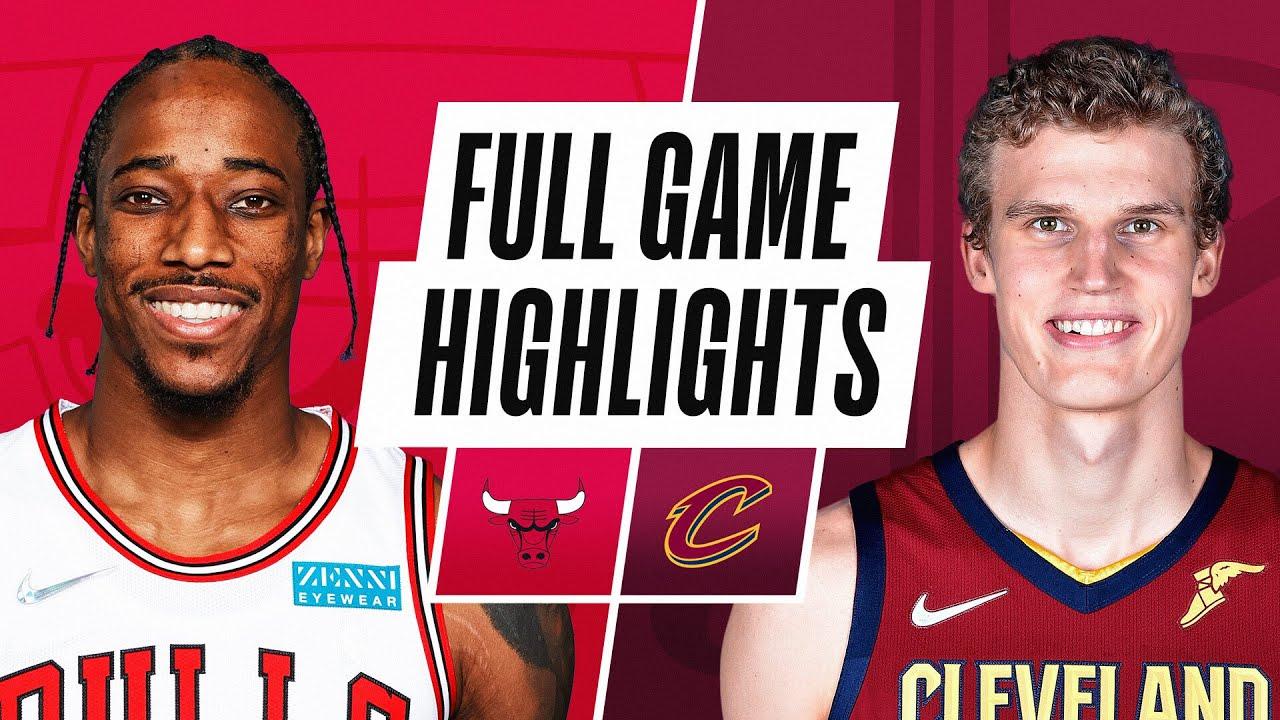 BULLS at CAVALIERS | NBA PRESEASON FULL GAME HIGHLIGHTS | October 10, 2021