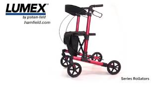 Lumex® LX5000 Allura Rollator Youtube Video Link
