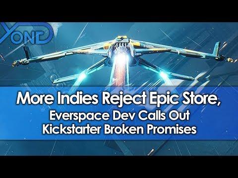 More Indies Reject Epic Store, Everspace Dev Calls Out Kickstarter Broken Promises