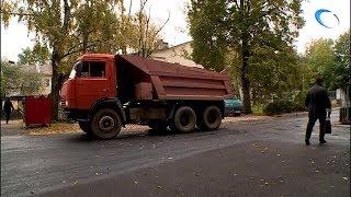 В семи дворах Великого Новгорода подрядчик должен переделать свою работу по благоустройству