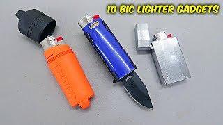 10 Bic Lighter Gadgets You Didn