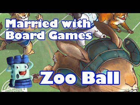Zoo Ball Review with Married with Board Games