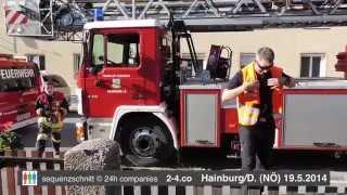 preview picture of video 'Tierrettung der Feuerwehr Hainburg an der Donau (HD)'