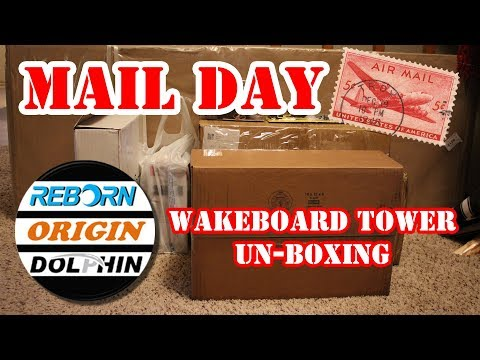 Origin Wakeboard Tower Unboxing Opening Review – Wake Board Tower un boxing Reborn Dolphin