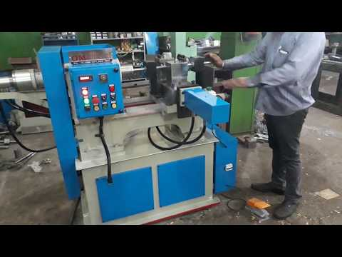 Hydraulic Pipe Knurling Machine