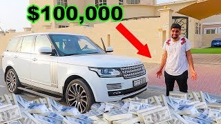 Taking 100k in CASH from the Bank !!!