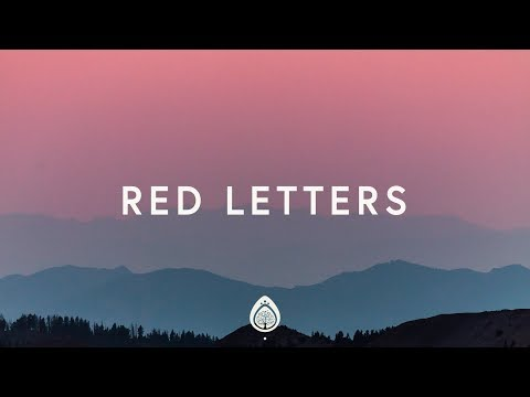 Crowder ~ Red Letters (Lyrics) - Music Meets Heaven